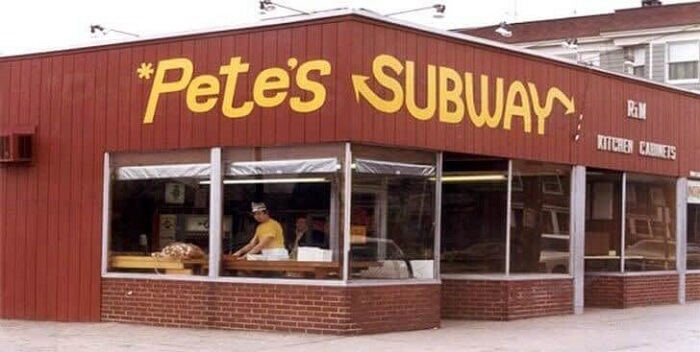 Subway – 1968 - First store