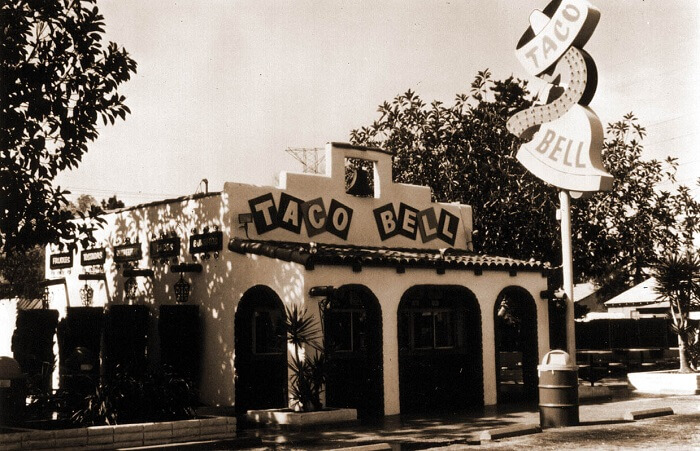 Taco Bell – 1962 - Famous Companies First Store