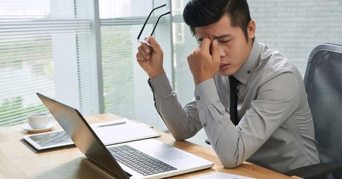 Take regular breaks for blinking after long screen time